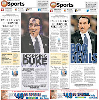 The Indianapolis Star pulled the original doctored photo of Coach K