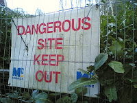Dangerous Site - Keep Out