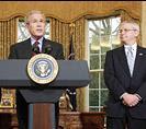 George W. Bush and Joshua Bolten