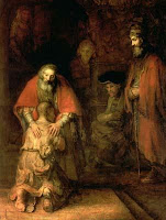 'The Return of the Prodigal Son' (1668) by Rembrandt Harmenszoon van Rijn