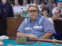 Russ Hamilton at the 1994 WSOP Main Event final table