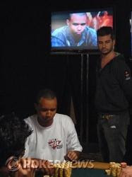 Phil Ivey playing Event No. 13 while Phil Ivey plays on 'Poker After Dark'