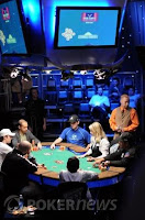 The final table of Event No. 19, the $2,500 NLHE Short-Handed event