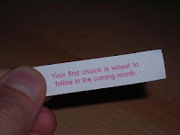 Your first choice is wisest to follow in the coming month.