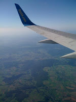Flying Home from Kyiv, Ukraine