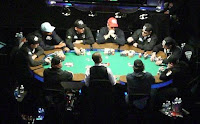 The 2009 WSOP ME final table, photo by Katkin for Pokerati