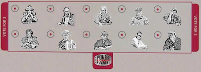 2010 Poker Hall of Fame Ballot