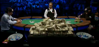 Heads-up play commences at the 2010 WSOP Main Event