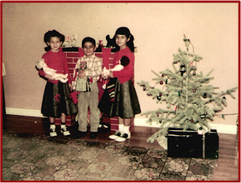 Us Three Kids-Christmas 1955