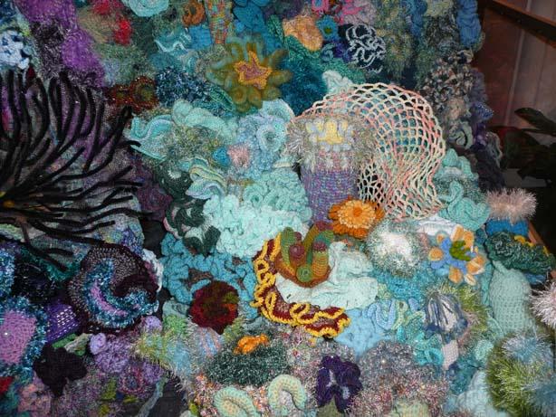 Hyperbolic Crochet Hyperbolic Crochet Coral Reef In Smithsonian