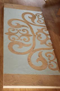 Medello design on clay