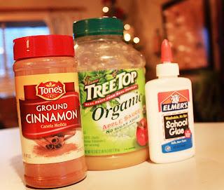 cinnamon glue applesauce recipe