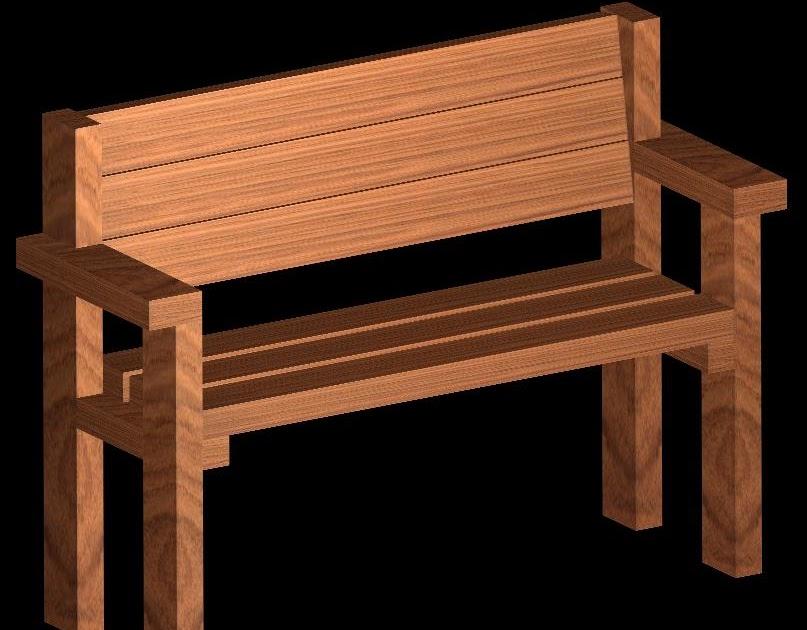 Hecho en casa banca de madera for Banca in casa