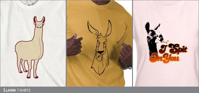 Llama T-Shirts