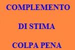 10 FRASI CON COMPLEMENTO DI STIMA COLPA PENA