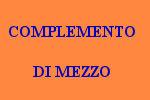 10 FRASI CON COMPLEMENTO DI MEZZO