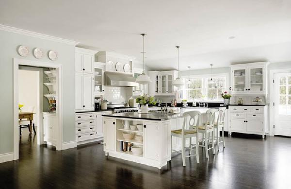 Haus and home white neutral kitchens for Haus kitchens