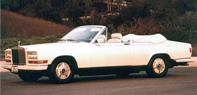 Rolls-Royce Carmague convertible