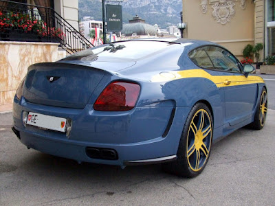 Bentley Le MANSory wide body Continential GT
