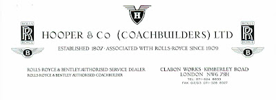 hooper & Co Coachbuilders ltd