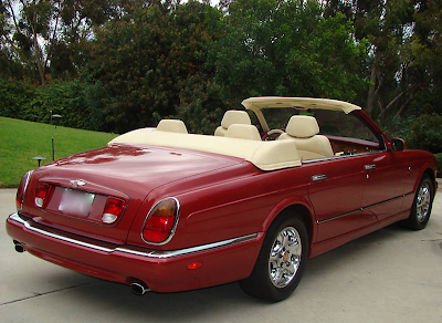 Bentley Arnage Convertible