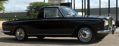 Rolls Royce Silver Shadow Ute Pick Up Truck