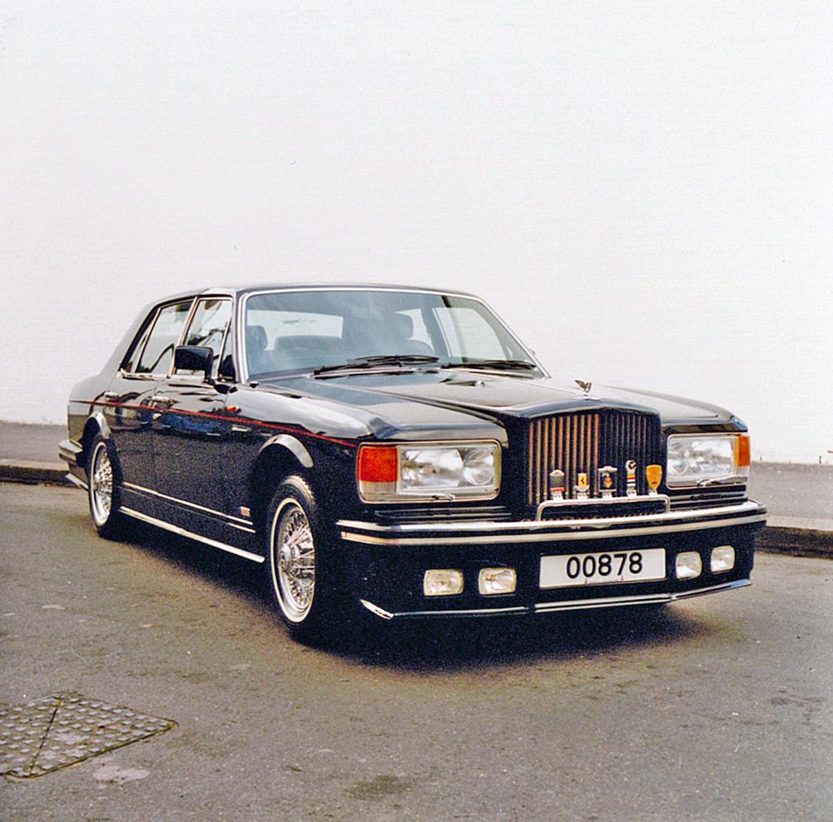 Bentley Spotting Bentley Mulsanne Turbo By Hooper Co