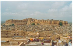 A view of Sonar Killa - Jaisalmer, Rajasthan, India