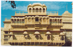 A view of Raj Mahal