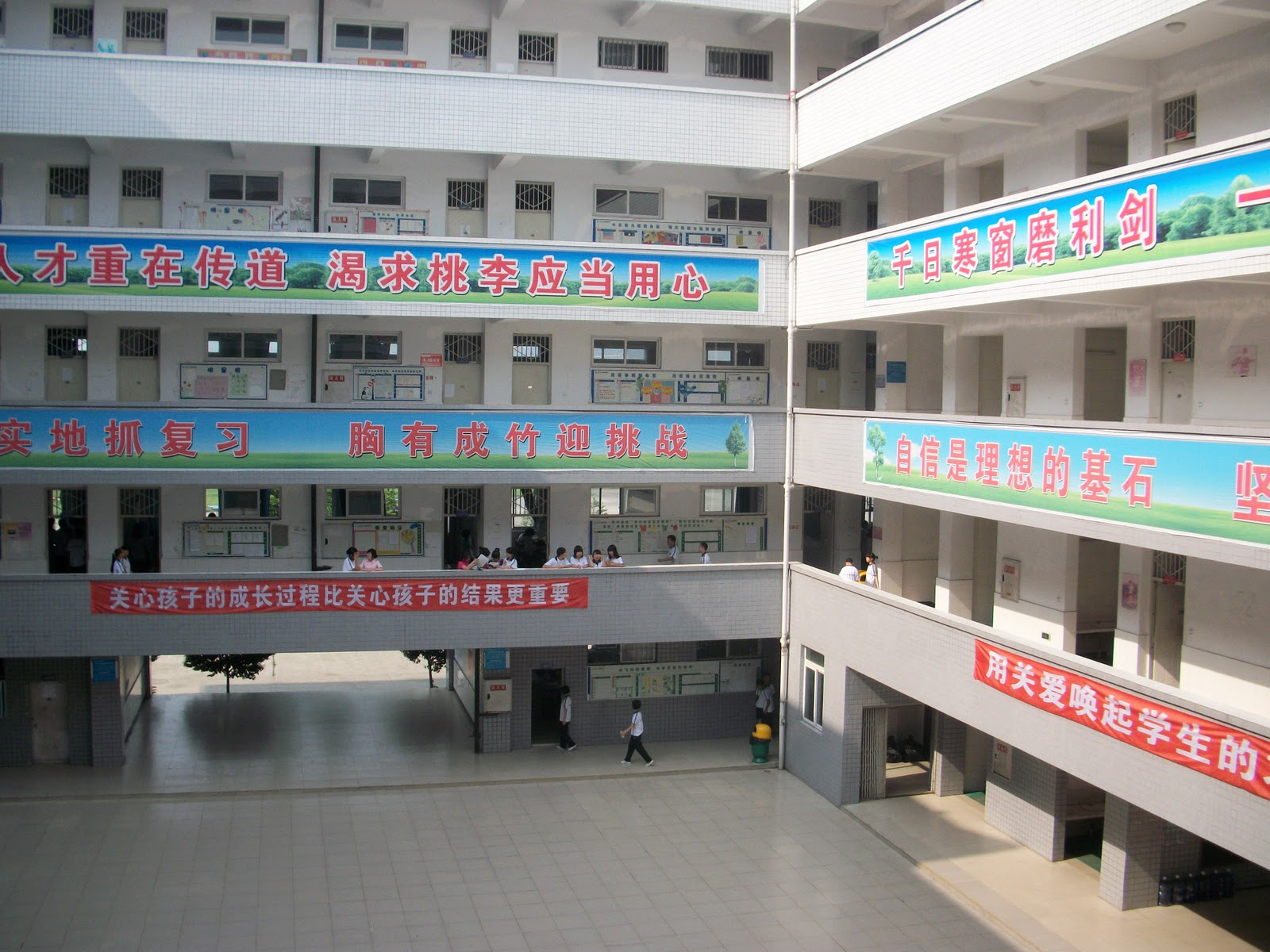 The Middle School Building