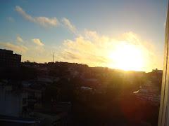 Lindo nascer do Sol no Uruguay