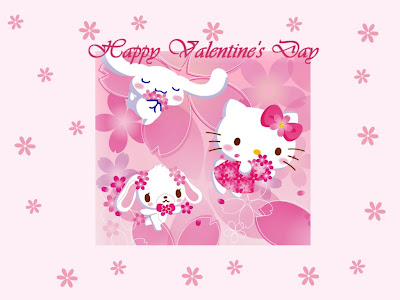 Hello Kitty Easter Wallpaper. I like Valentine#39;s Day (^.^)!