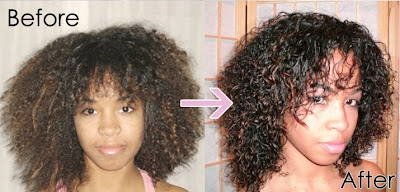 Texturizer Natural Hair Before After Short Hairstyle 2013