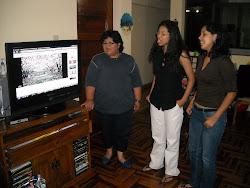 Mimi, Daniela y Keyla