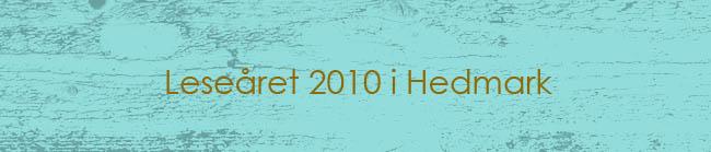 Leseåret 2010 i Hedmark
