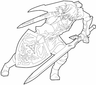 ps zelda has one wickedly thought out world inhabitted by so many characters i wouldnt even know where to start listing them so if there is any specific - Zelda Coloring Pages