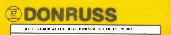 1987 Donruss