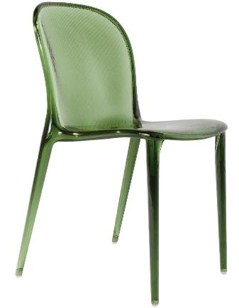 Green polycarbonate chair from Weego Home