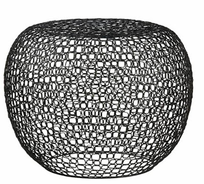 Bubble shaped link side table from CB2