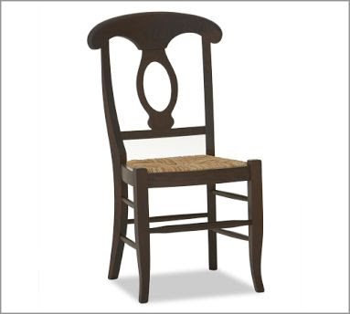 Napolean beech side chair from Pottery Barn