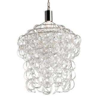 Glass links chandelier from Design Within Reach