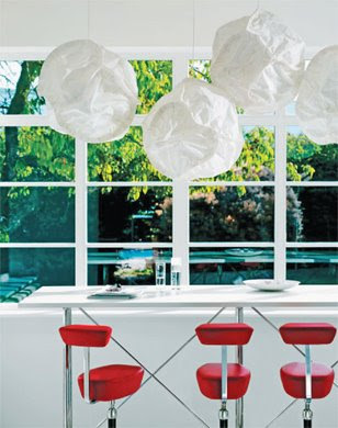 Cloud pendant lights design by Frank Gehry from Hive