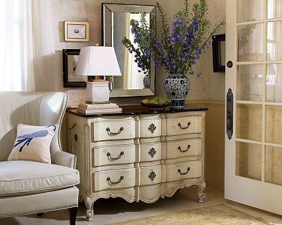 white Antique locker furniture