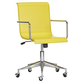Home Decorating Design Desk Chairs Yellow