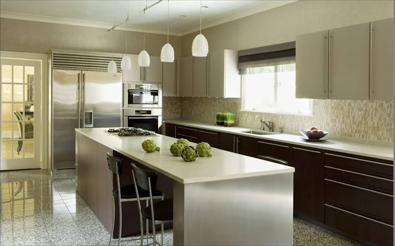 eric+roth+kitchen+modern+pendant+lights 11 Stunning Photos of Kitchen Track Lighting