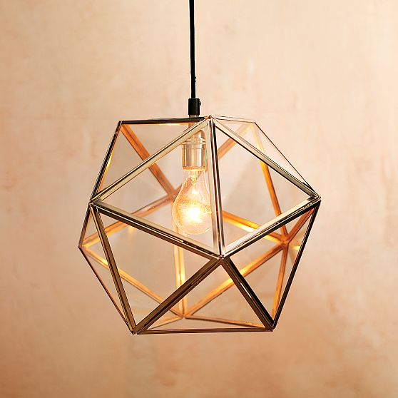 Geometric Pendant Light 558 x 558