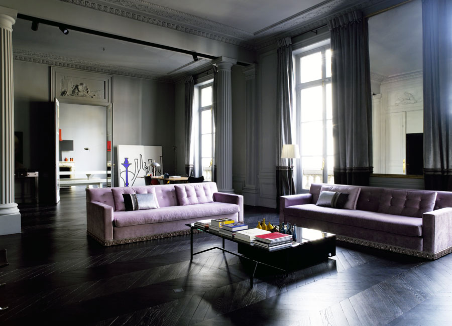 Cococozy color watch styling with grey all the way Grey and purple living room