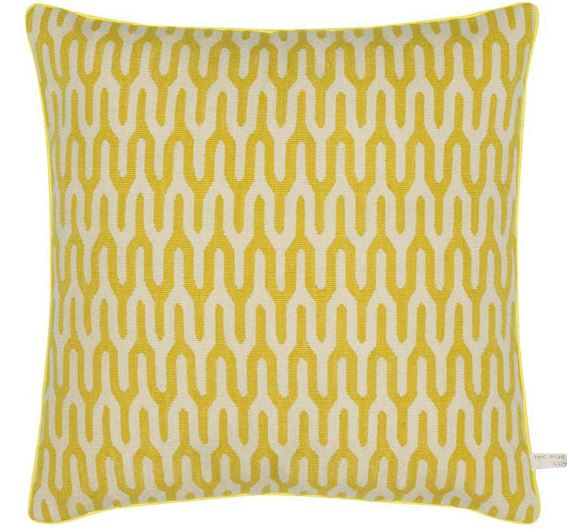Ponti Yellow Cushion