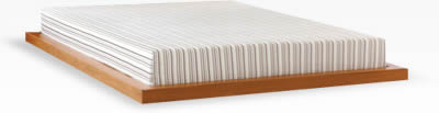 Organic memory foam mattress from Essentia