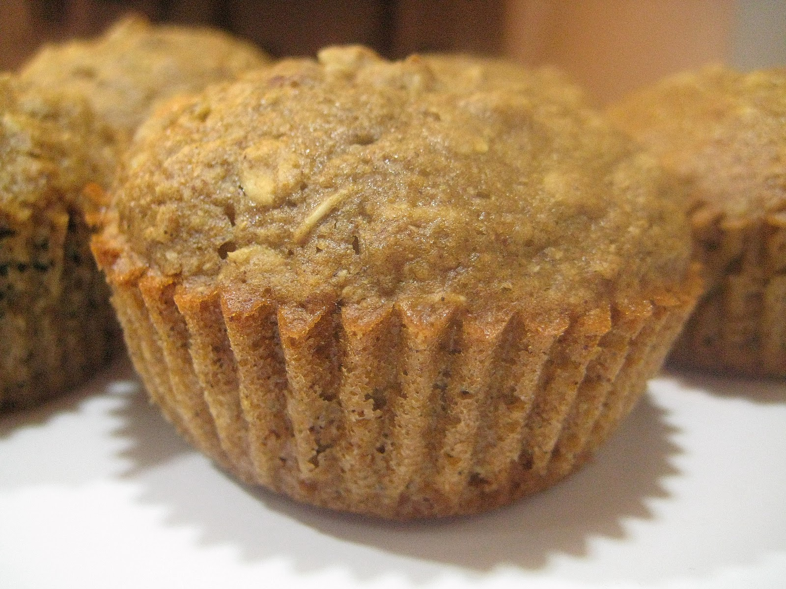 Bitchin' Kitchen: Applesauce Oatmeal Muffins